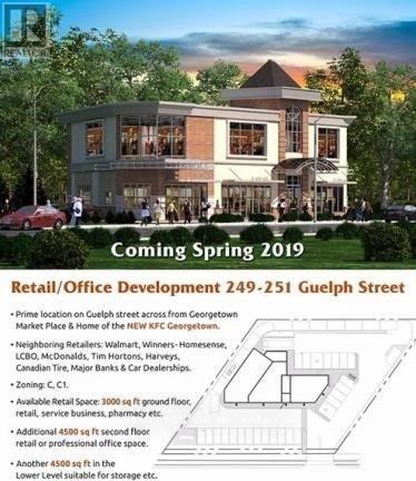 #249 -251 Guelph St, Halton Hills, Ontario  L7G 4A8 - Photo 2 - W4295607