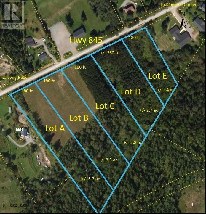 Lot D Route 845, Kingston, NB, E5N1E8
