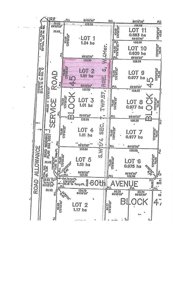 6105 48 Street, Elk Point Vacant Land For Sale