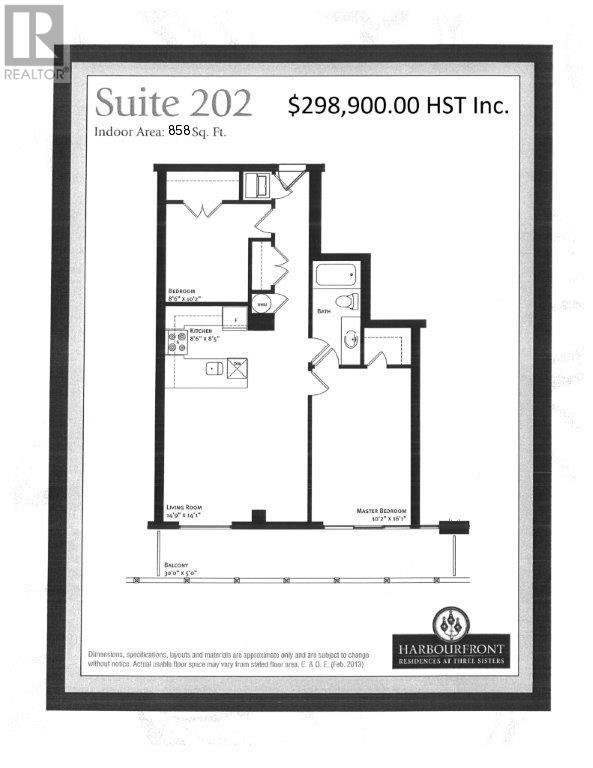 243 Prince William Street Unit# 202, Saint John, New Brunswick  E2L 0C6 - Photo 2 - NB023567