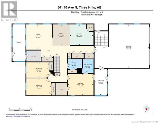 801 10 Avenue Ne, Three Hills, Alberta  T0M 2A0 - Photo 49 - CA0191488