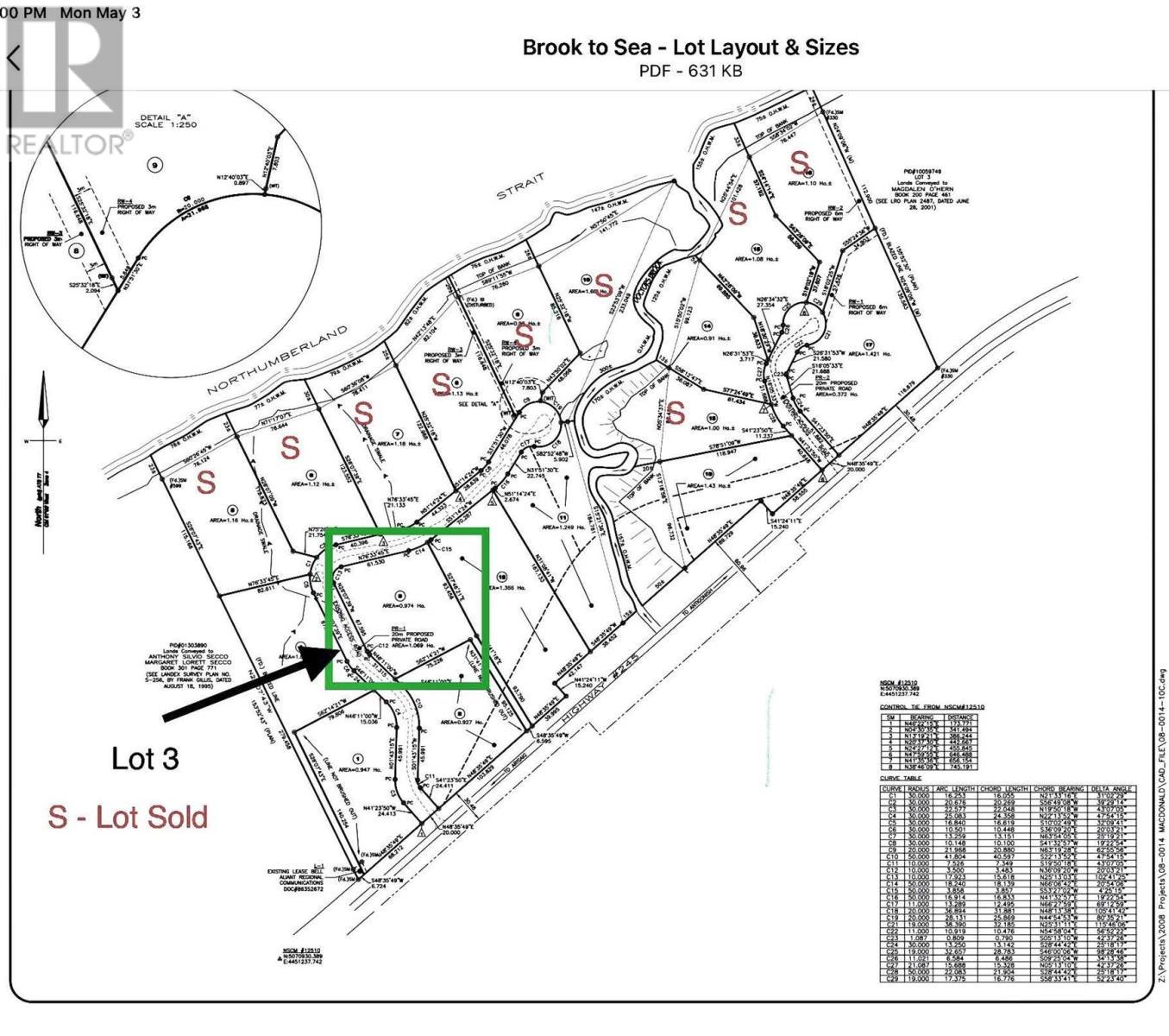 Lot 3 Seabrook Way, Doctors Brook, Nova Scotia  B2G 2L1 - Photo 3 - 202015810