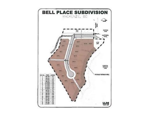 Lot 10 Bell Place, Mackenzie, British Columbia  V0J 2C0 - Photo 1 - N227303