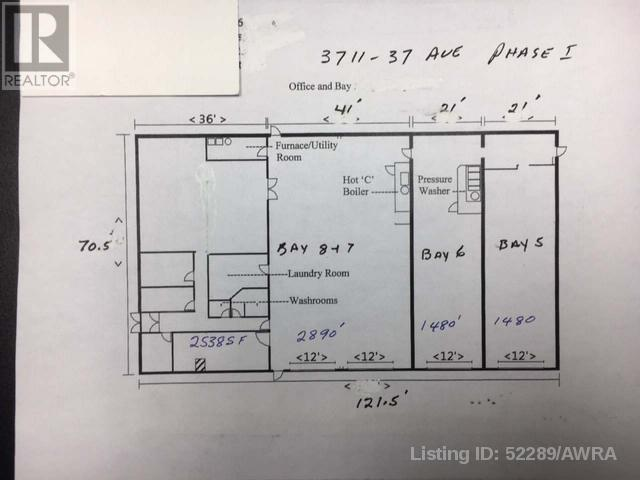 Bay 6,7,& 8, 3711 37 Ave Avenue, Whitecourt, Alberta  t7s 0c3 - Photo 8 - AWI52289
