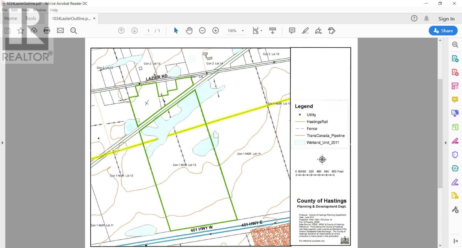 1034 Lazier Rd, Tyendinaga, Ontario  K8N 4Z6 - Photo 1 - K20006834
