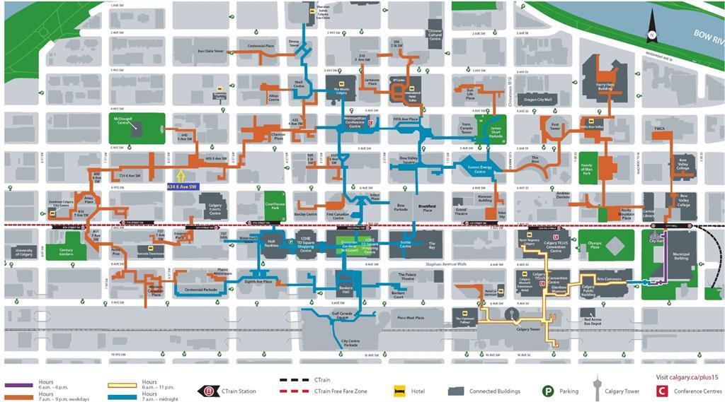 510, 634 6 Avenue Sw, Calgary, Alberta  T2P 0S4 - Photo 2 - A1063136