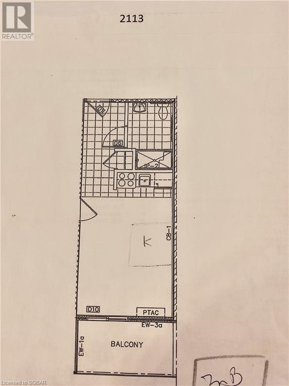 9 Harbour Street E Unit# 2113, Collingwood, Ontario  L9Y 5C5 - Photo 3 - 40060688