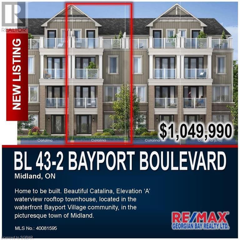 Bl 43-2 Bayport Boulevard, Midland, Ontario  L4R 0G4 - Photo 4 - 40081595