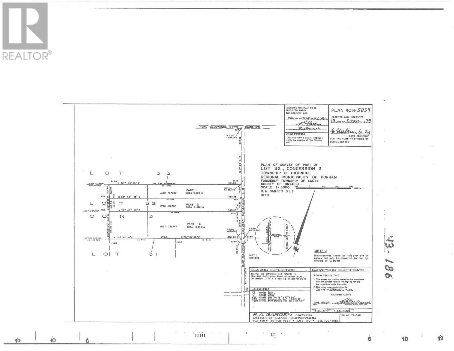 0 Concession 4 Rd, Pt Rd W, Uxbridge, Ontario  L0E 1T0 - Photo 3 - N5158114