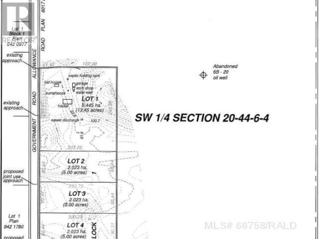 Lot 4 Sw 20-44-6-W4th, M.d. Of, Alberta  T9W 1S8 - Photo 3 - A1115613