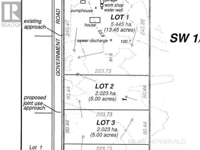 Lot 3 Sw 20-44-6-W4th, M.d. Of, Alberta  T9W 1S8 - Photo 2 - A1115621