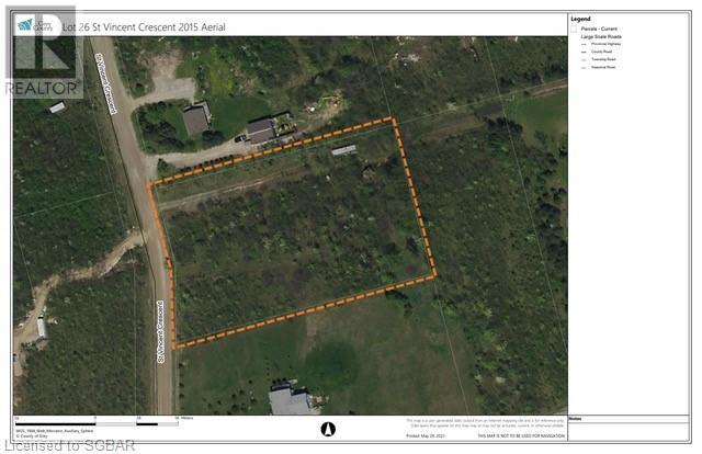 Lt 26 St Vincent Crescent, Meaford (Municipality), Ontario  N4L 1W7 - Photo 2 - 40125344