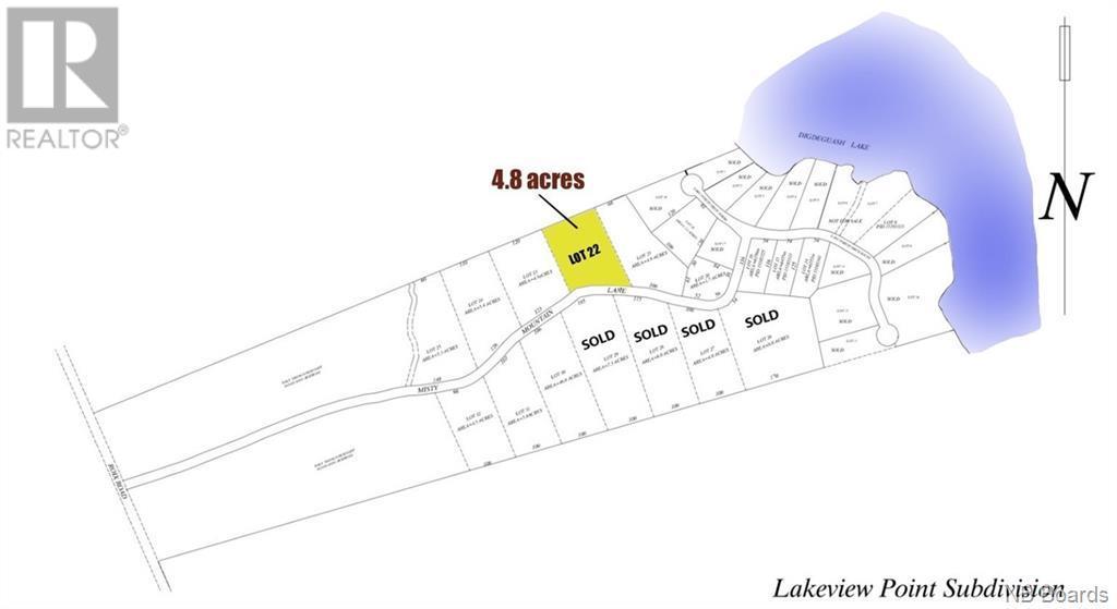Lot 22 Misty Moutain Lane, Elmsville, New Brunswick  E5C 0E5 - Photo 1 - NB058222