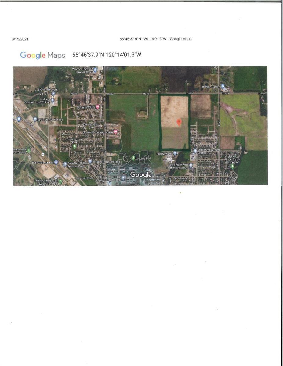 1100 90 Avenue,, Dawson Creek, British Columbia  V1G 4E8 - Photo 1 - 189330