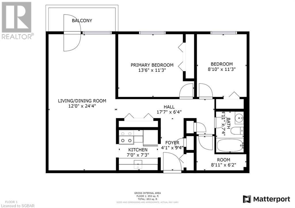 173 Eighth Street Unit# 302, Collingwood, Ontario  L9Y 2C9 - Photo 17 - 40139201
