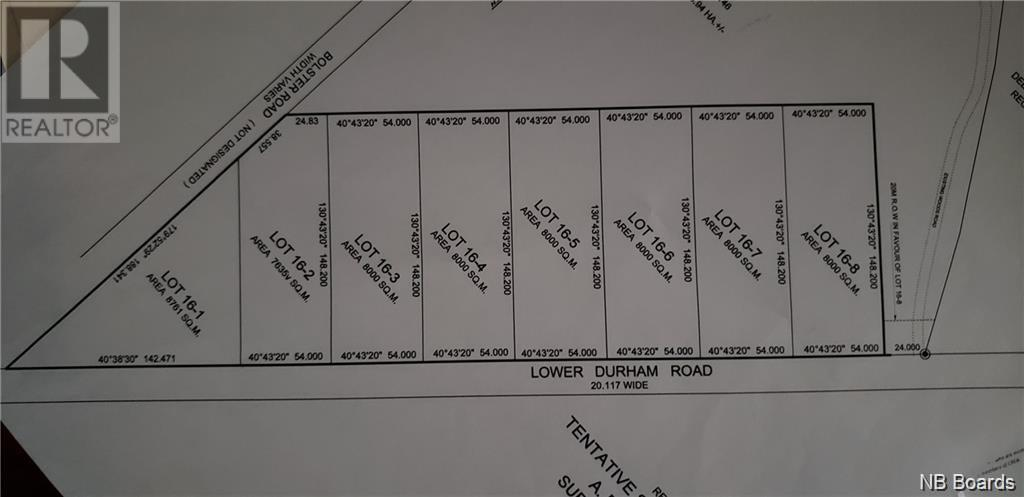 Lot 16-7 Lower Durham Road, Durham Bridge, New Brunswick  E6C 1H5 - Photo 2 - NB062130