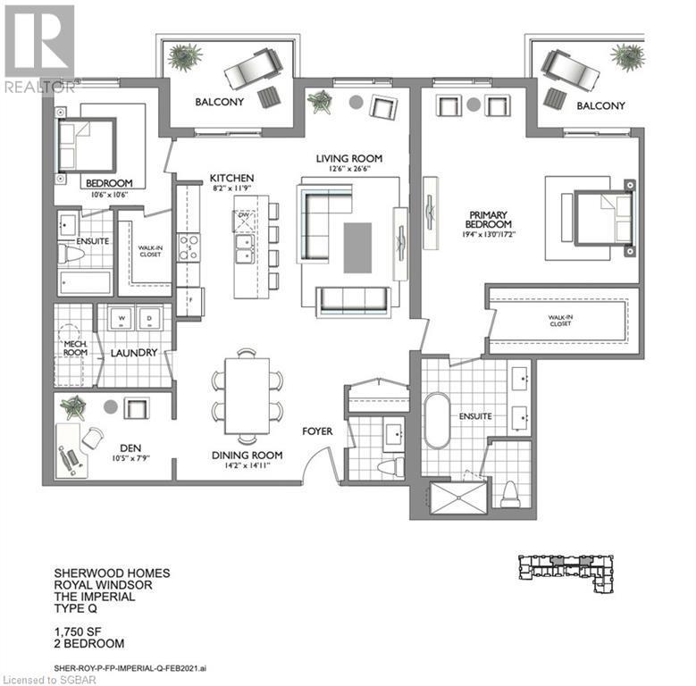 8-10 Harbour Street W Unit# 511, Collingwood, Ontario  L9Y 5B4 - Photo 2 - 40153877