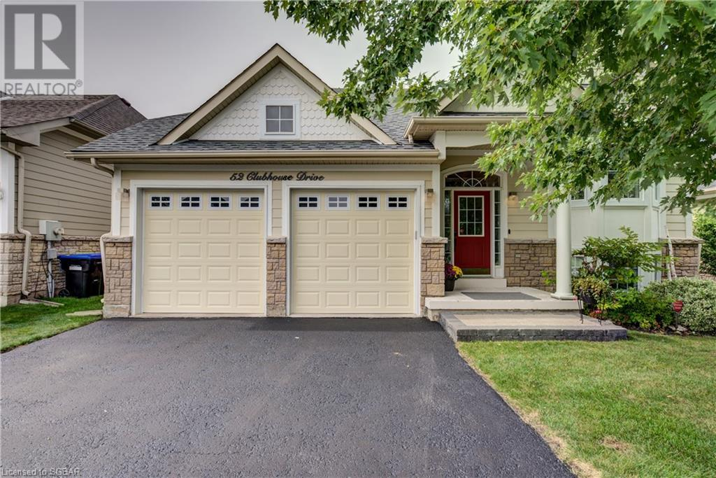 52 CLUBHOUSE Drive, collingwood, Ontario