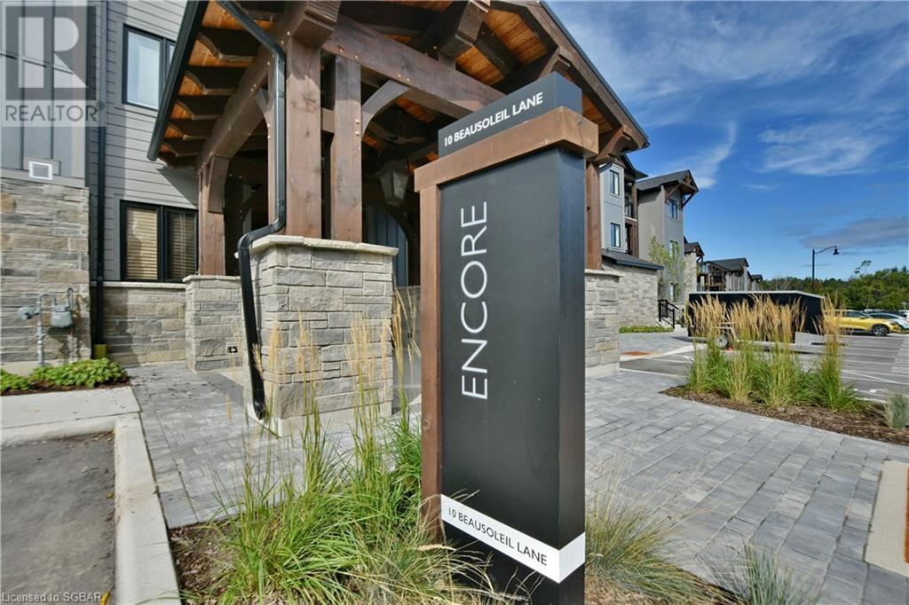 10 Beausoleil Lane Unit# 305, Town Of Blue Mountains, Ontario  L9Y 2X5 - Photo 3 - 40163952